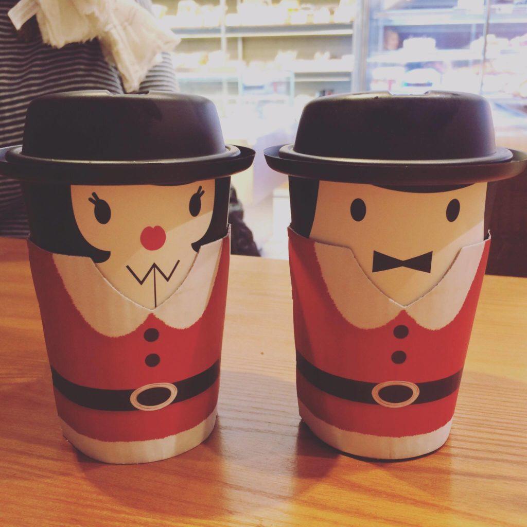 Zu süß – Mr. und Mrs. Santa Claus!